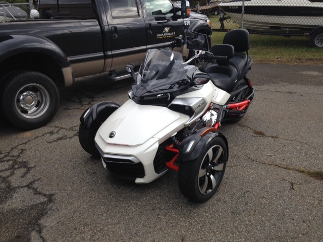 can am spyder f3