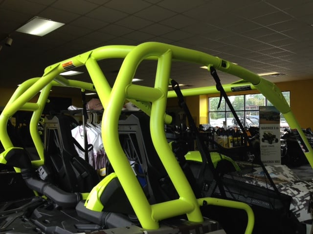 Digital Camo Maverick ROPS Roll Cage Manta Green