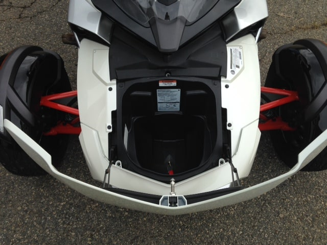can am spyder f3 trunk