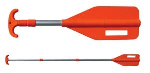 Telescoping paddle for jet ski