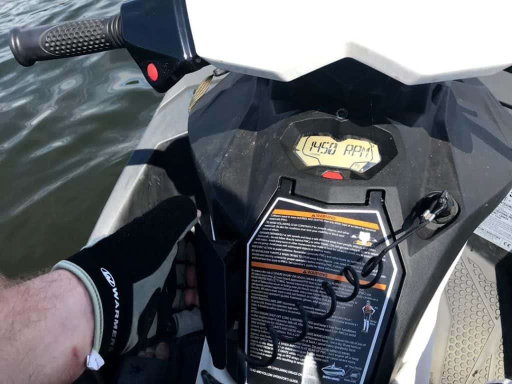 How to get water out of Footwells on Jet Ski