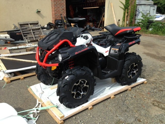 2016 Can AM Outlander 570 xMR Review - Steven in Sales