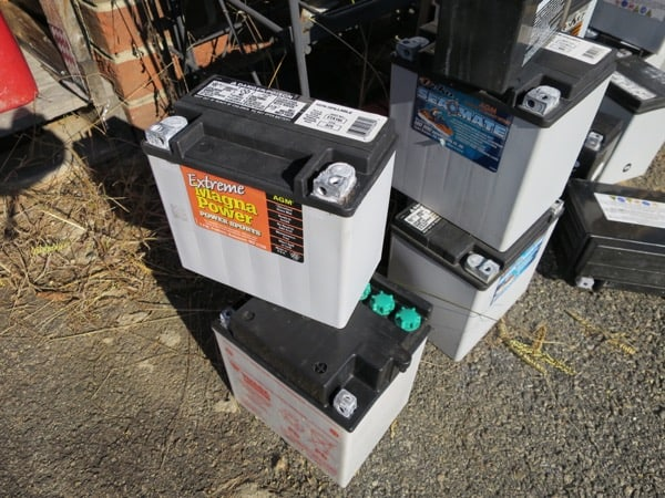 Random jet ski batteries that are dead