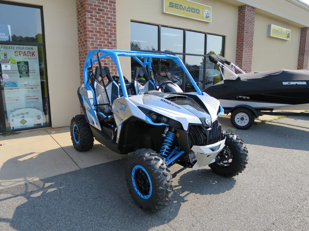One Of The Main Features That Really Stands Out Is All New Colors Can Am Doing To There Line Up Octane Blue Turbo