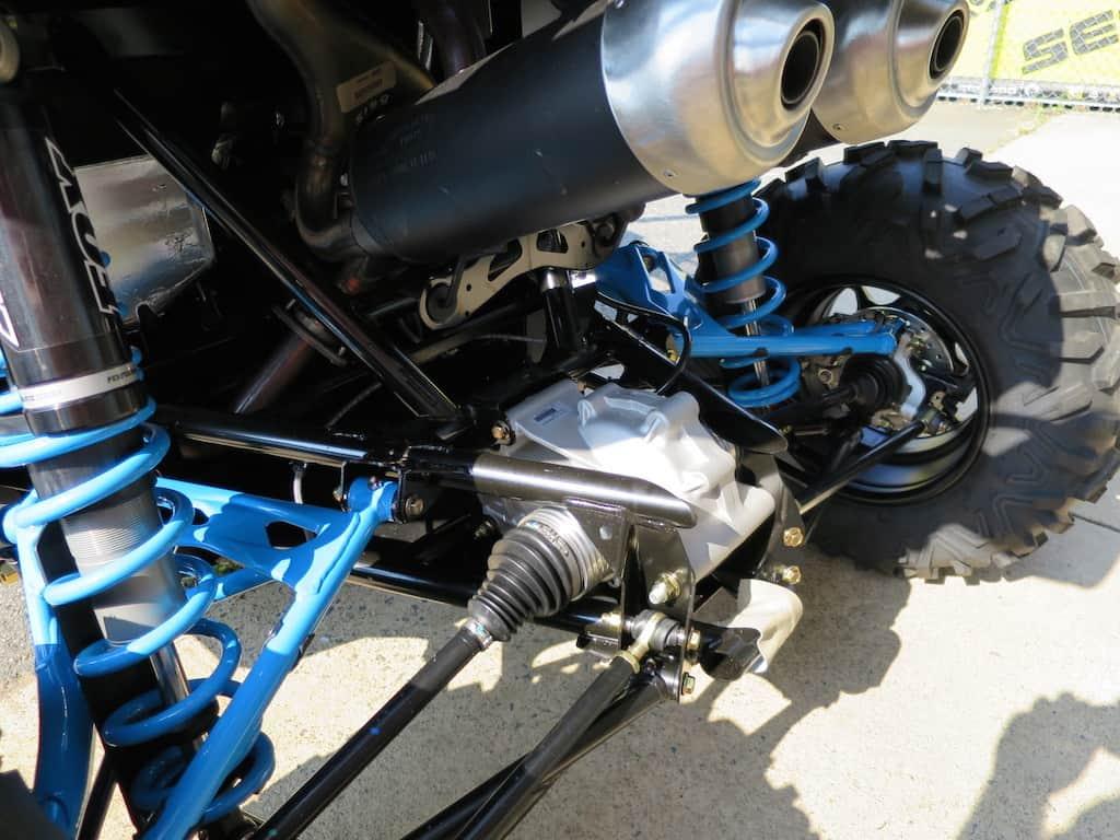 rear of maverick turbo