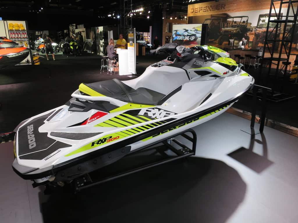 white rxp x 300 hp