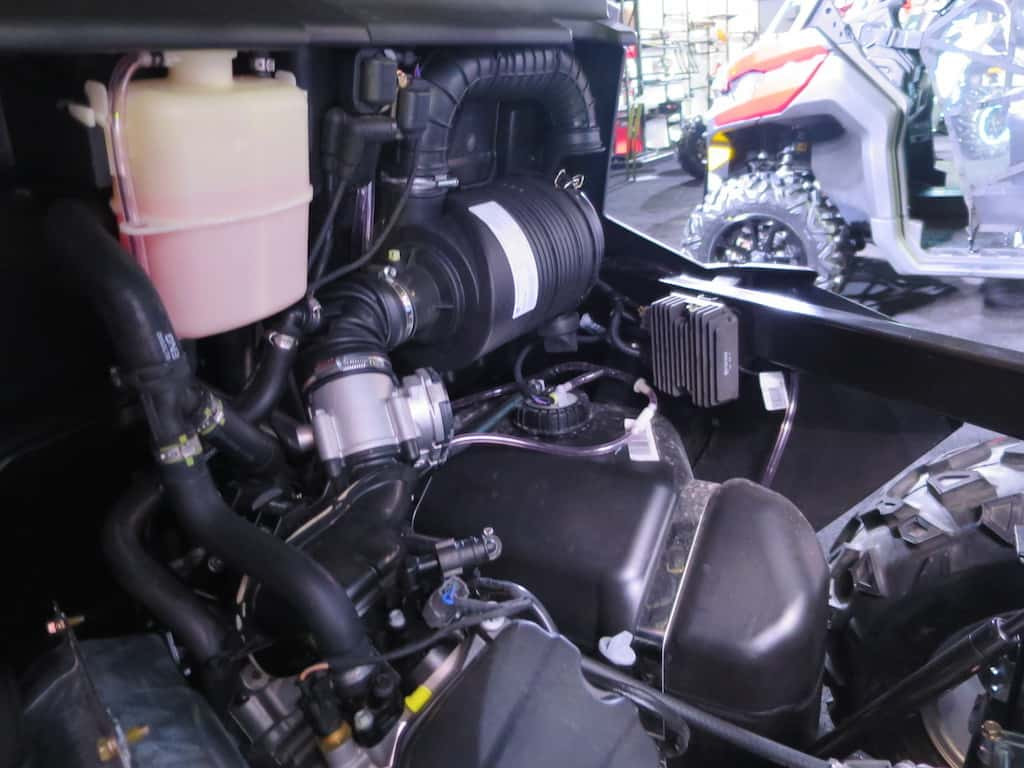 defender engine air intake
