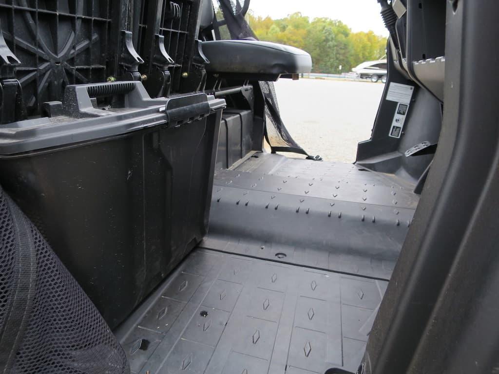 defender under seat