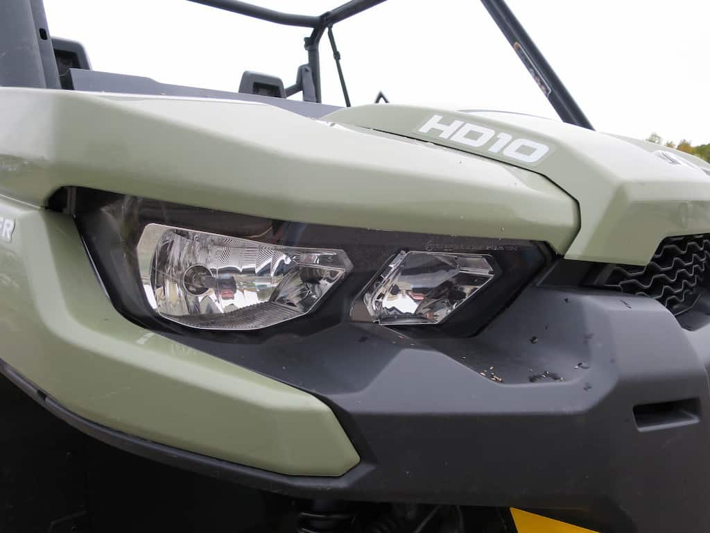 defender headlight