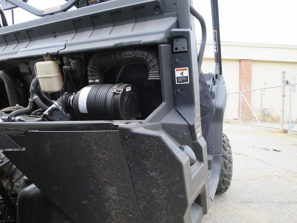 defender air intake