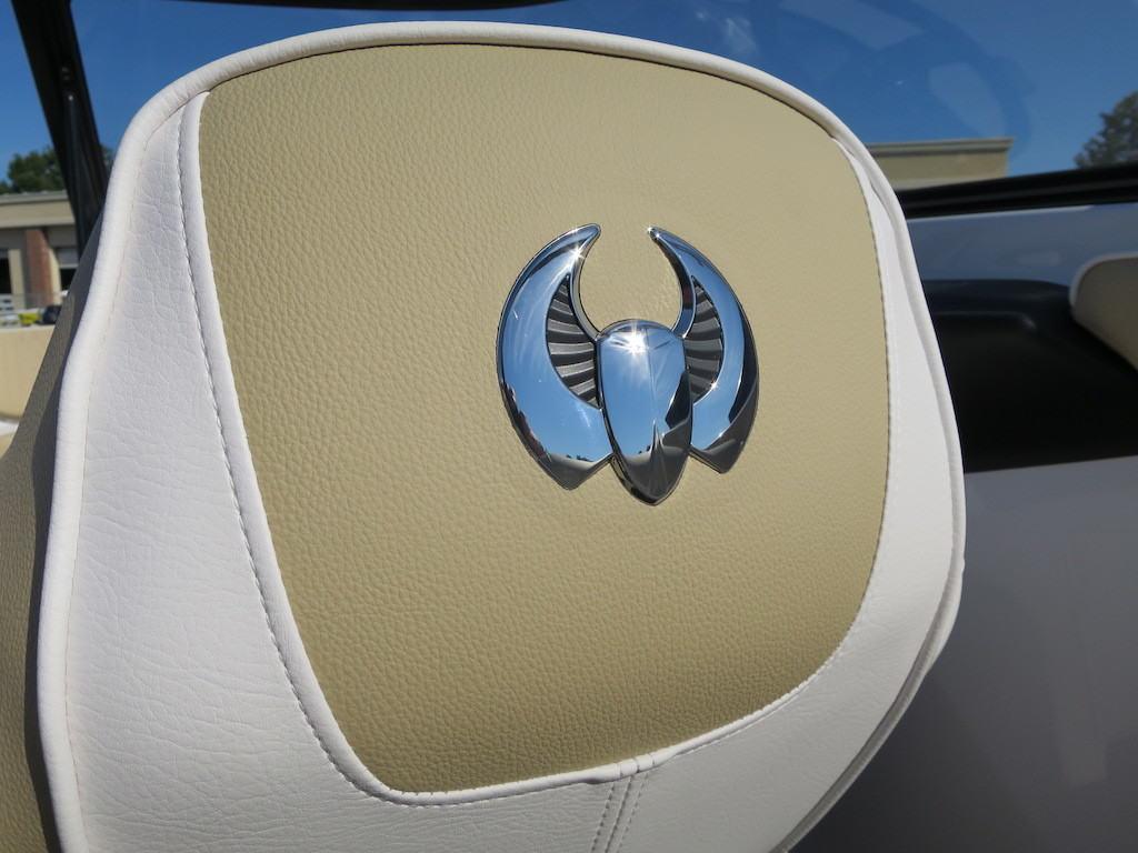 scarab logo seat
