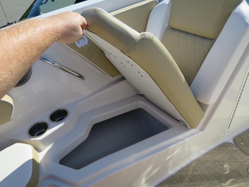 front seat storage