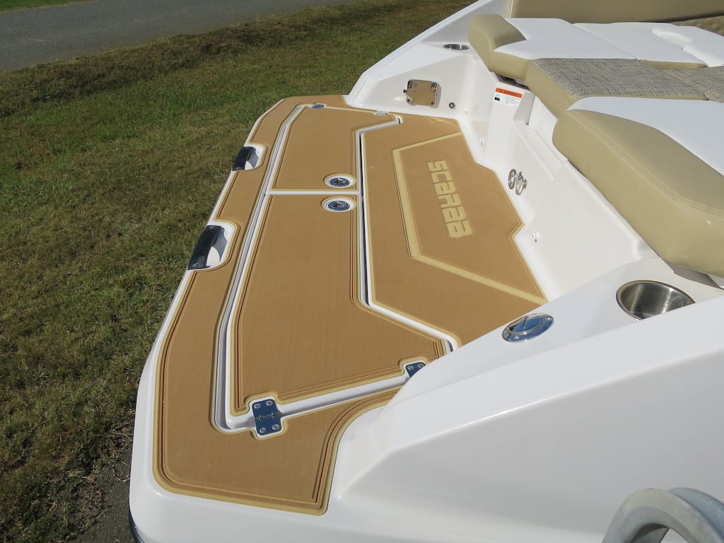 scarab 255 rear mats