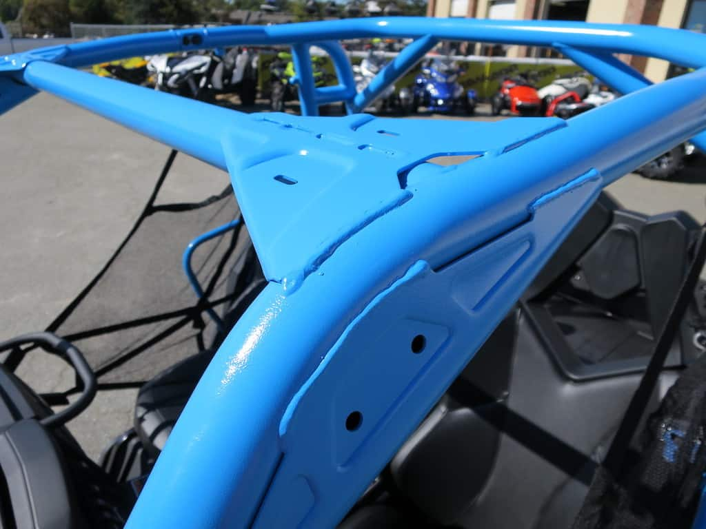 octane blue roll cage