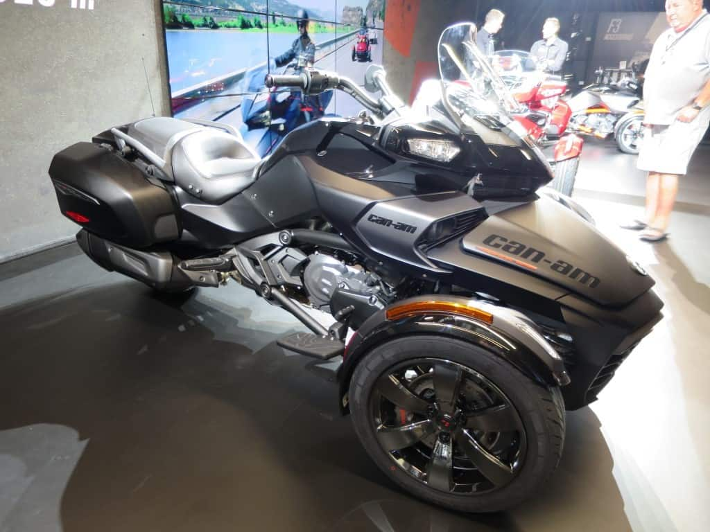 Can Am Spyder F3 Review