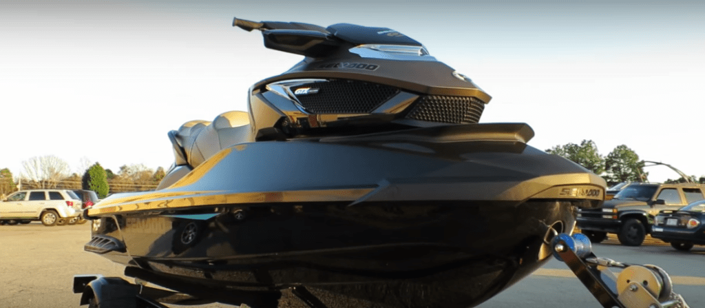 Suspension… On A Jet SKi???