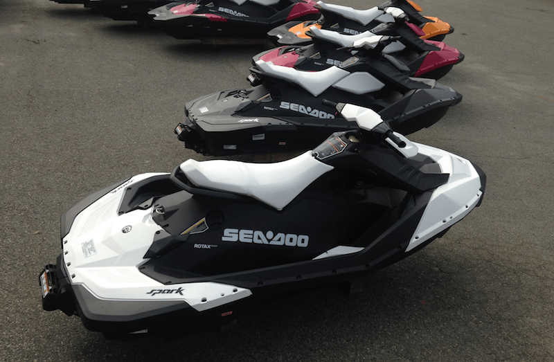 What is the MPG for the Sea Doo Spark?