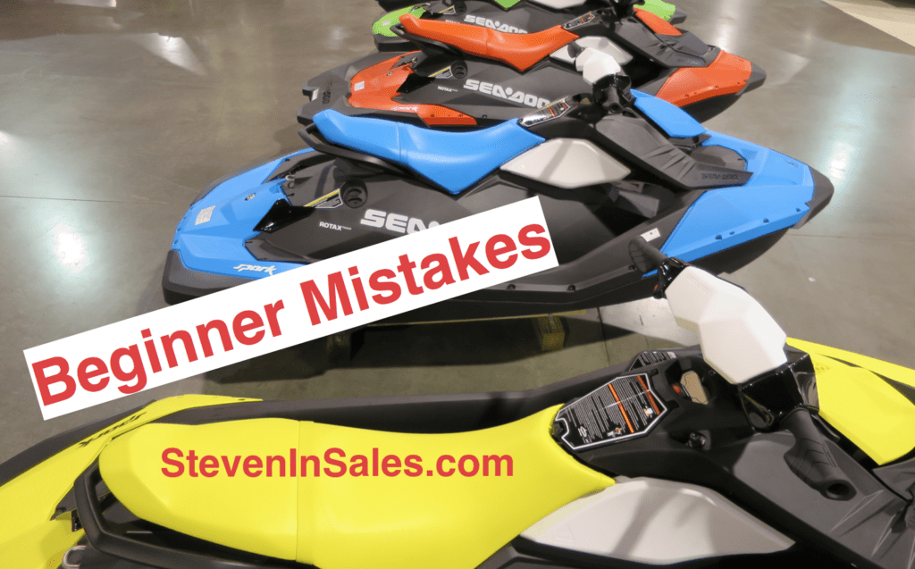 Mistakes beginners make list