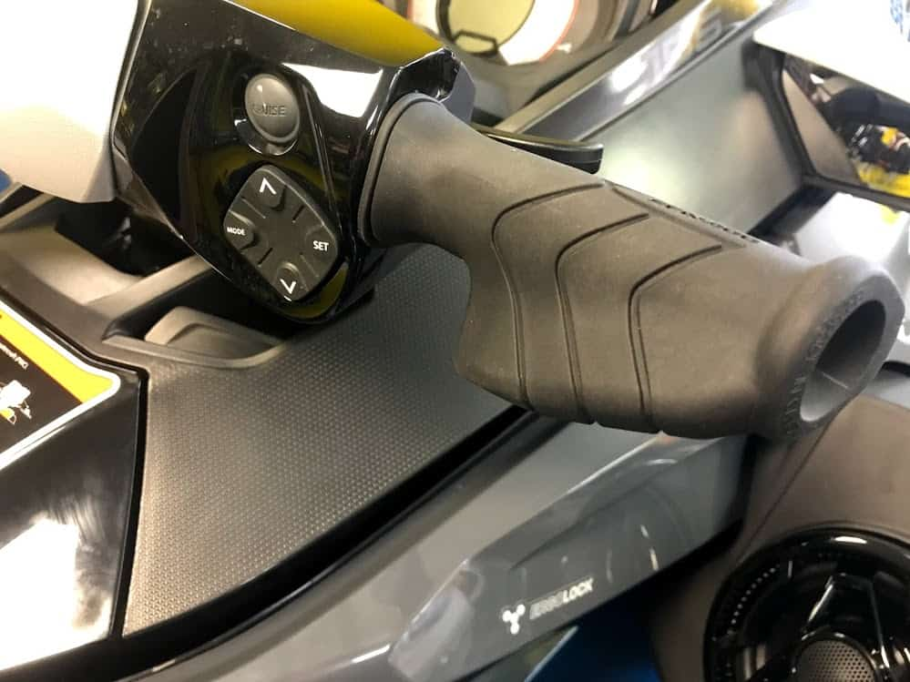 Sea-Doo palm grips cruise control