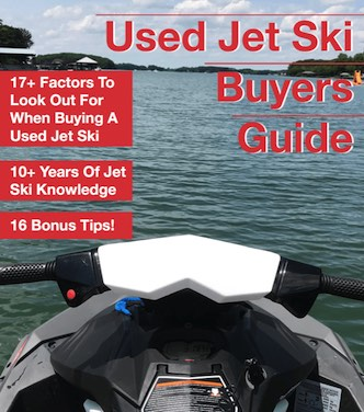Used jet ski buyers guide ebook cover