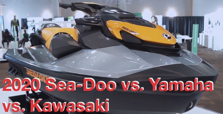 2020 Sea-Doo vs. Yamaha vs. Kawasaki