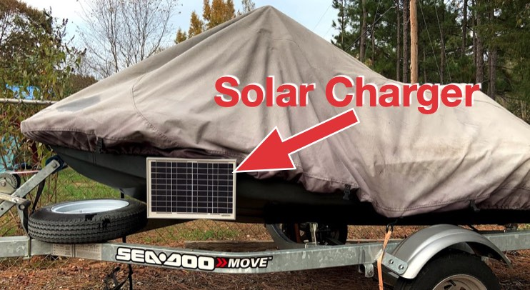 Showing solar charger